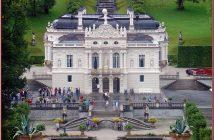 linderhof vue de chateau de louis 2