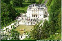 linderhof chateau louis 2 baviere vue aerienne