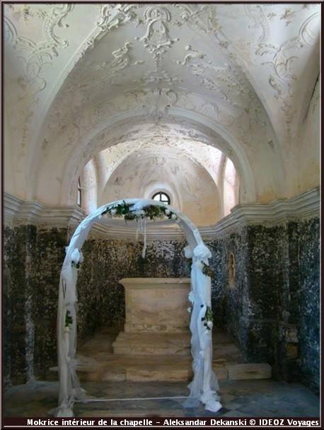 mokrice interieur chapelle chateau slovenie