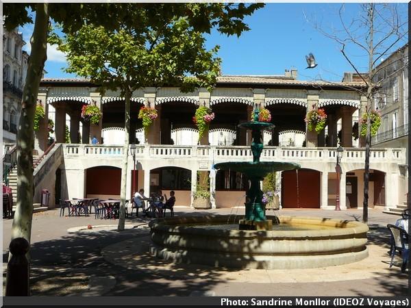 tourisme castelnaudary halles de verdun