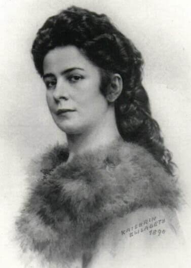 kaiserin Elisabeth d'Autriche en 1890