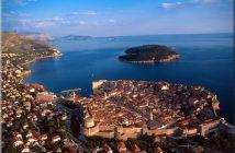 dubrovnik panorama adriatique lokrum