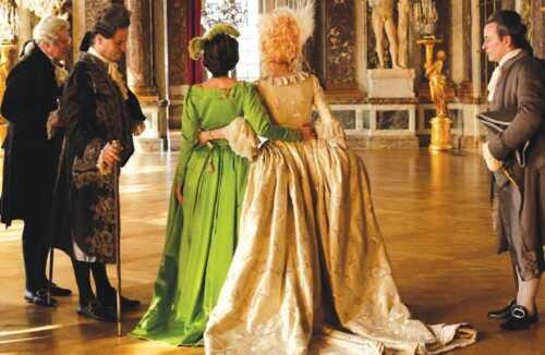 les adieux à la reine marie antoinette et sa confidente