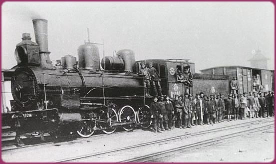 locomotive transsiberien