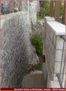 monastere ostrog escalier