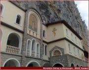 monastere ostrog facade