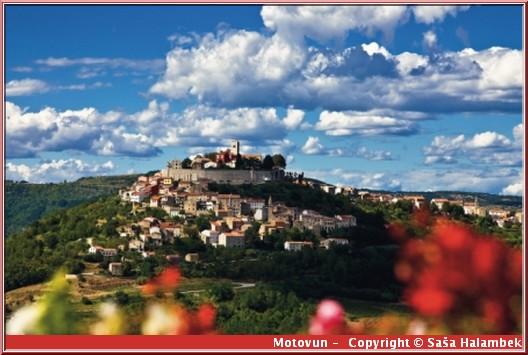 motovun croatie Istrie