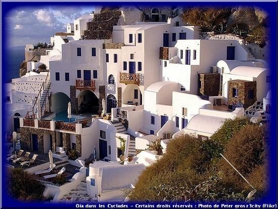 oia village iles grecques cyclades îles de rêve