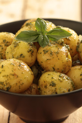 pommes de terre pesto