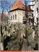 prague vieux cimetiere juif et musee