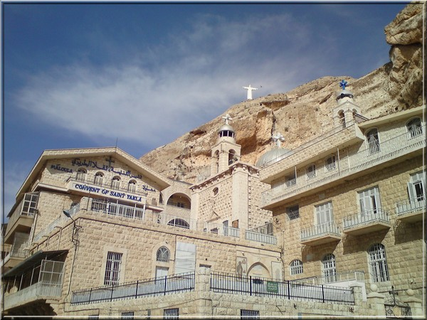 syrie couvent orthodoxe Sainte Thecle Maaloula
