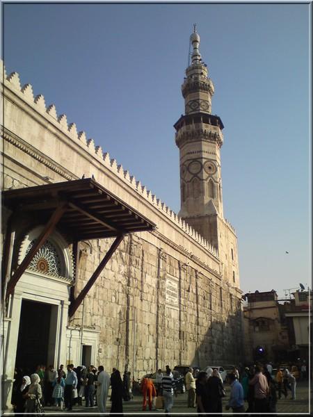 syrie damas Mosquée Omeyyade