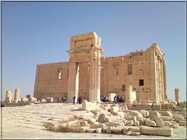 syrie temple de Bel Palmyre