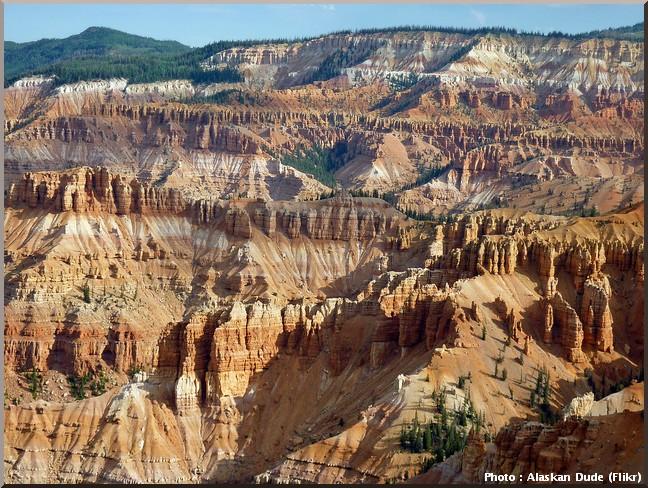 Cedar Breaks National Monument paysage