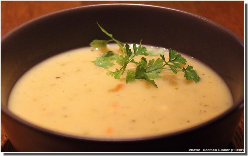 kartoffelsuppe soupe allemande aux pommes de terre. Black Bedroom Furniture Sets. Home Design Ideas