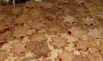 Linzer platzchen biscuits de Noël de Linz