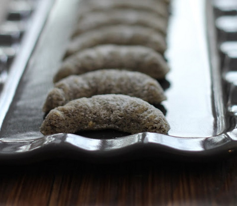 Mohnkipferl croissants de Noël au pavot
