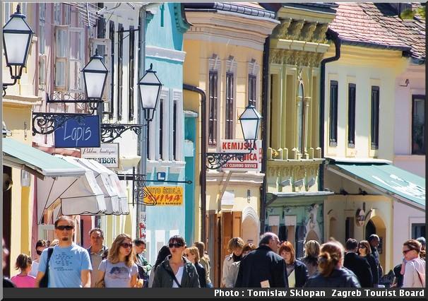 Tkalciceva rue Tomislav Sklopan