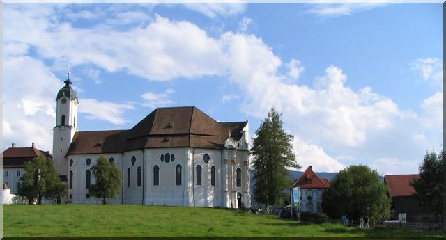 Wieskirche WIES eglise rococo baviere