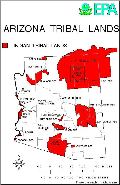 arizona reserves indiennes
