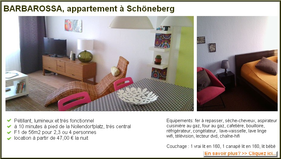 Location Appartement Berlin Pas Cher