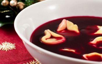 Barszcz soupe aux betteraves de Noël