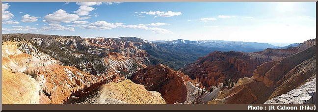 cedar breaks national monument panorama