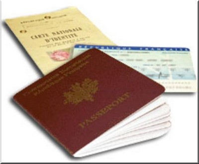 carte nationale d'identité passeport