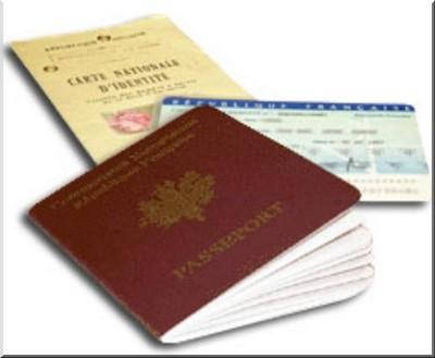 carte nationale d'identité passeport