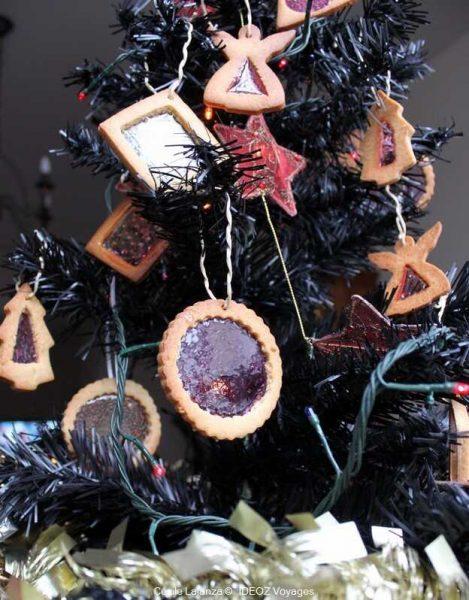 décorations fait maison pour un sapin de noel gourmand