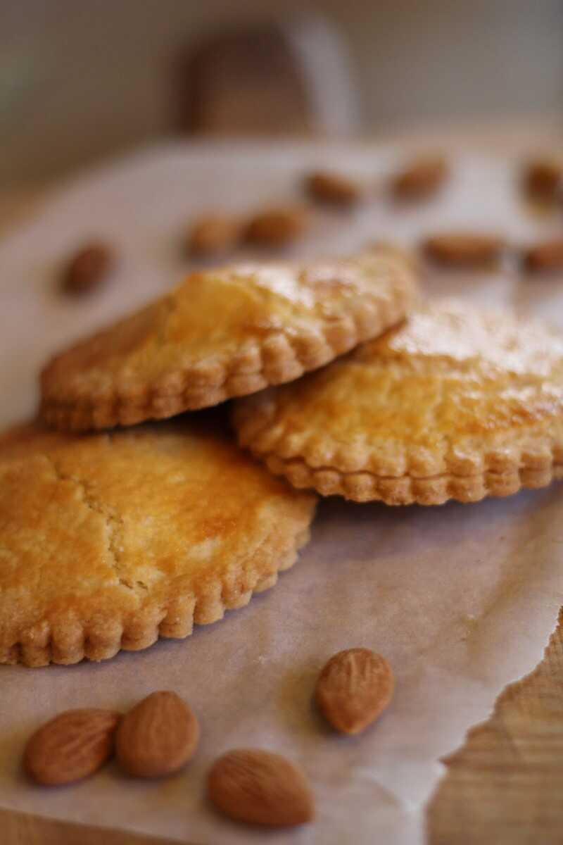 gevulde koeken sablés hollandais aux amandes