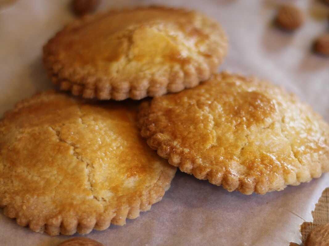 gevulde koeken sablés aux amandes