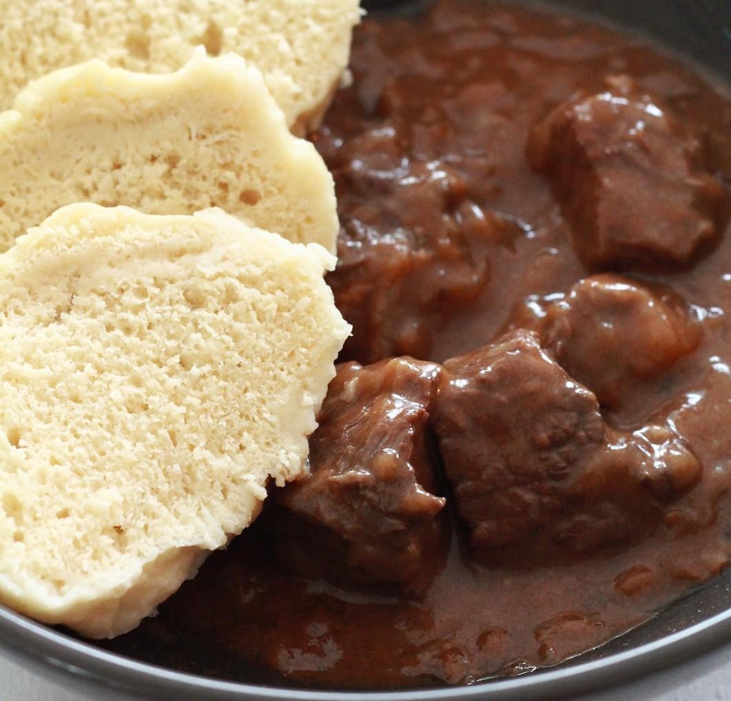 goulash tcheque de boeuf knedliky