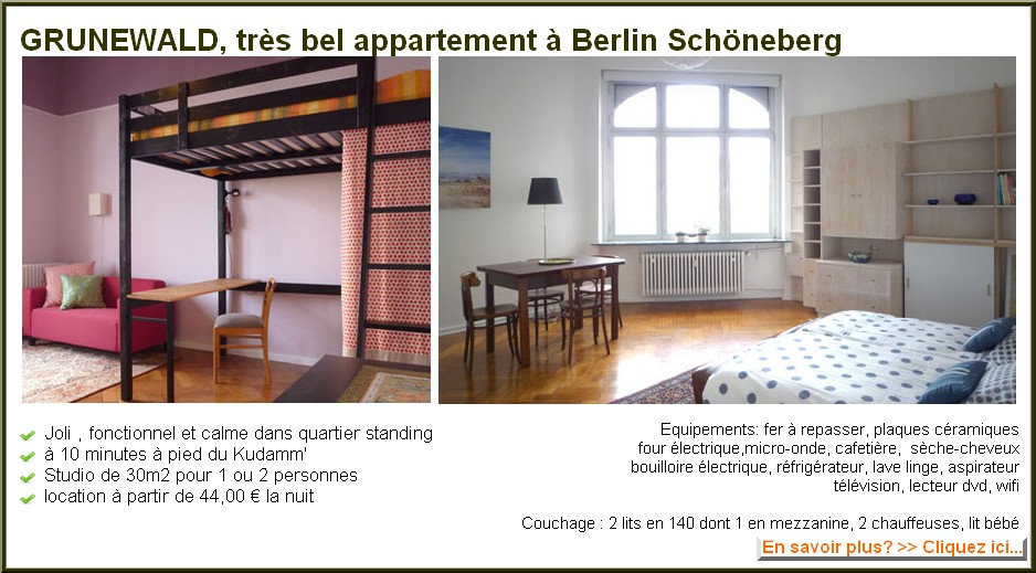 grunewald appartement berlin schoneberg