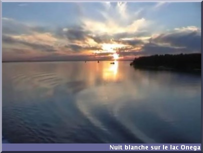 lac onega nuit blanche