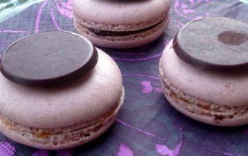 macarons clementine chocolat
