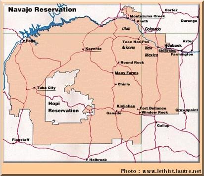 navajo reserve carte