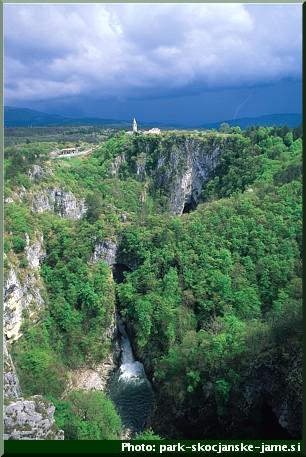 panorama skocjan