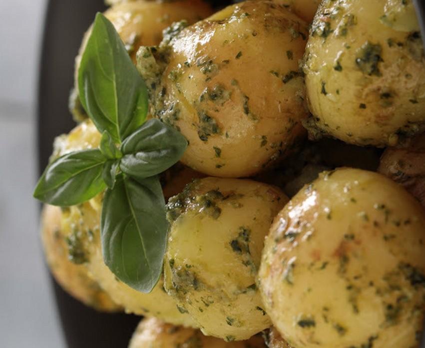 pommes de terre au pesto