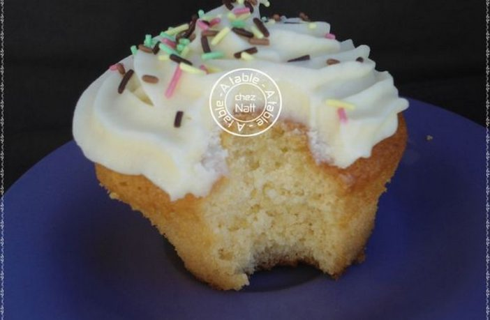recette cupcake americain