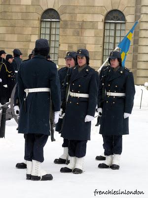 releve de la garde stockholm