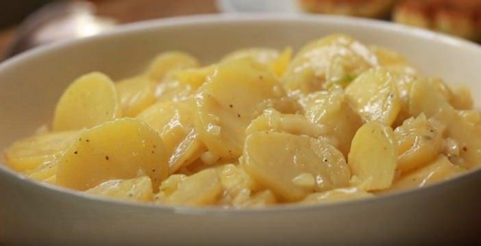 salade de pommes de terre danoise