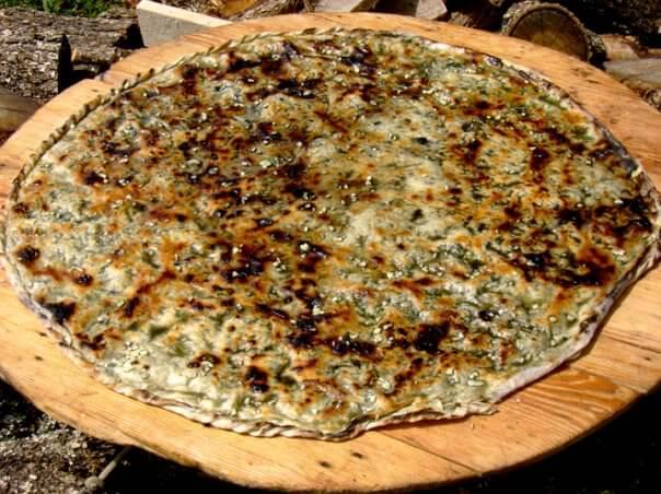 soparnik aux épinards en dalmatie centrale