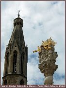 sopron clocher eglise de la chevre
