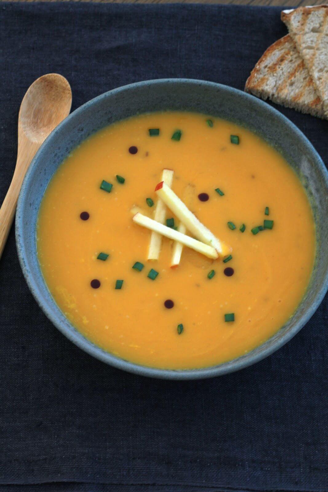 soupe à la courge autrichienne