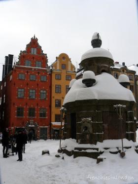 stockholm releve de la garde