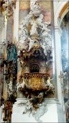 Abbaye d'Ottobeuren ; superbe église baroque de Souabe (Tourisme Bavière) 5