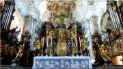 Abbaye d'Ottobeuren ; superbe église baroque de Souabe (Tourisme Bavière) 31