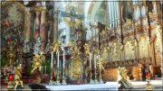 Abbaye d'Ottobeuren ; superbe église baroque de Souabe (Tourisme Bavière) 34
