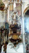 Abbaye d'Ottobeuren ; superbe église baroque de Souabe (Tourisme Bavière) 6